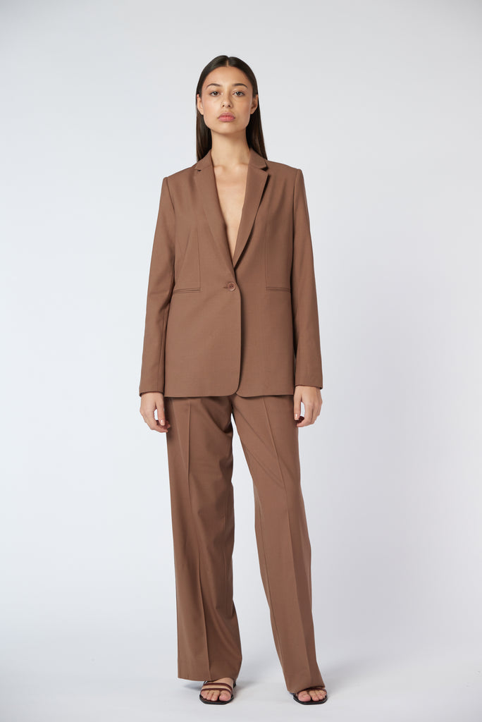 Suit Trouser - Cocoa