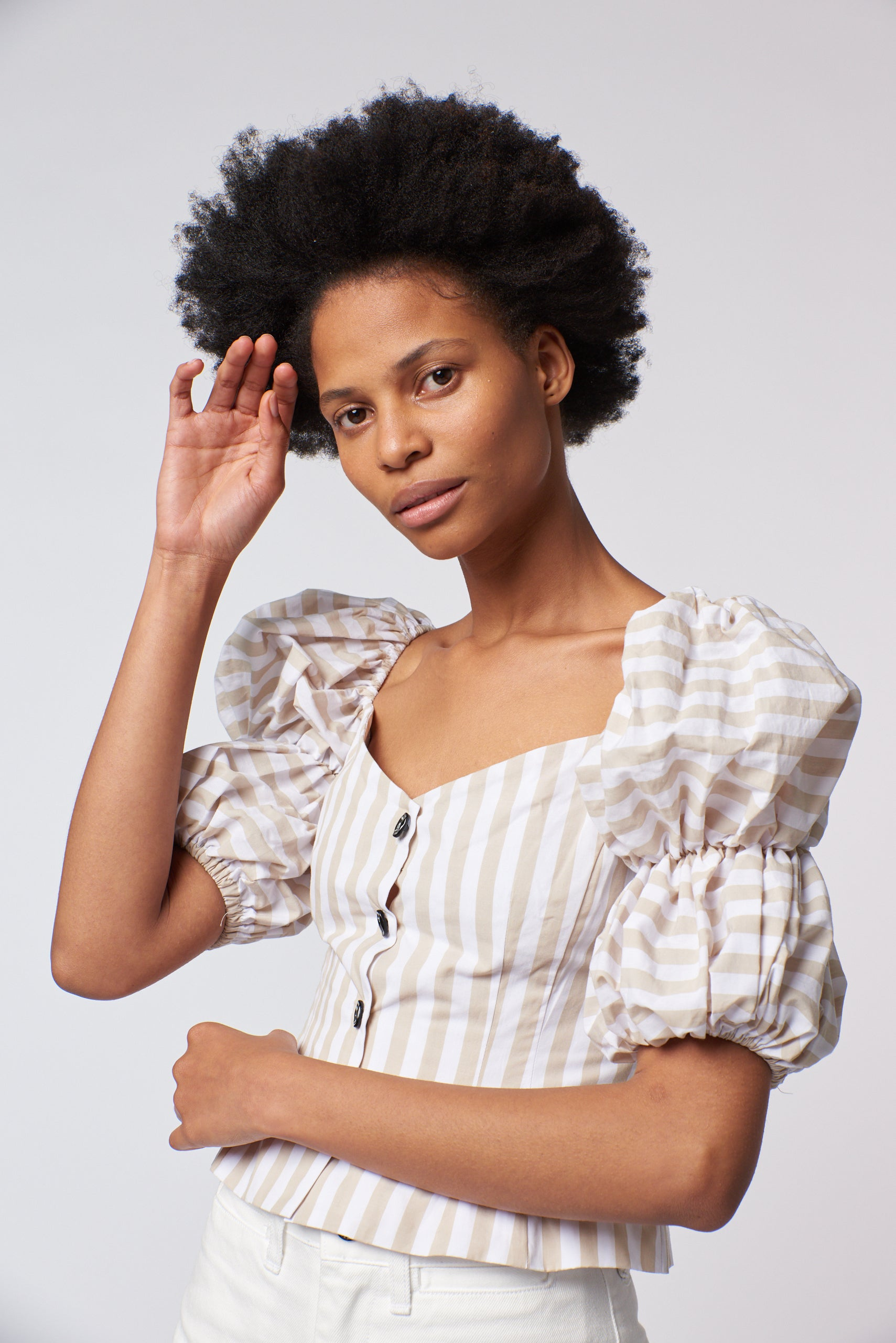 Greta Top- Stripe