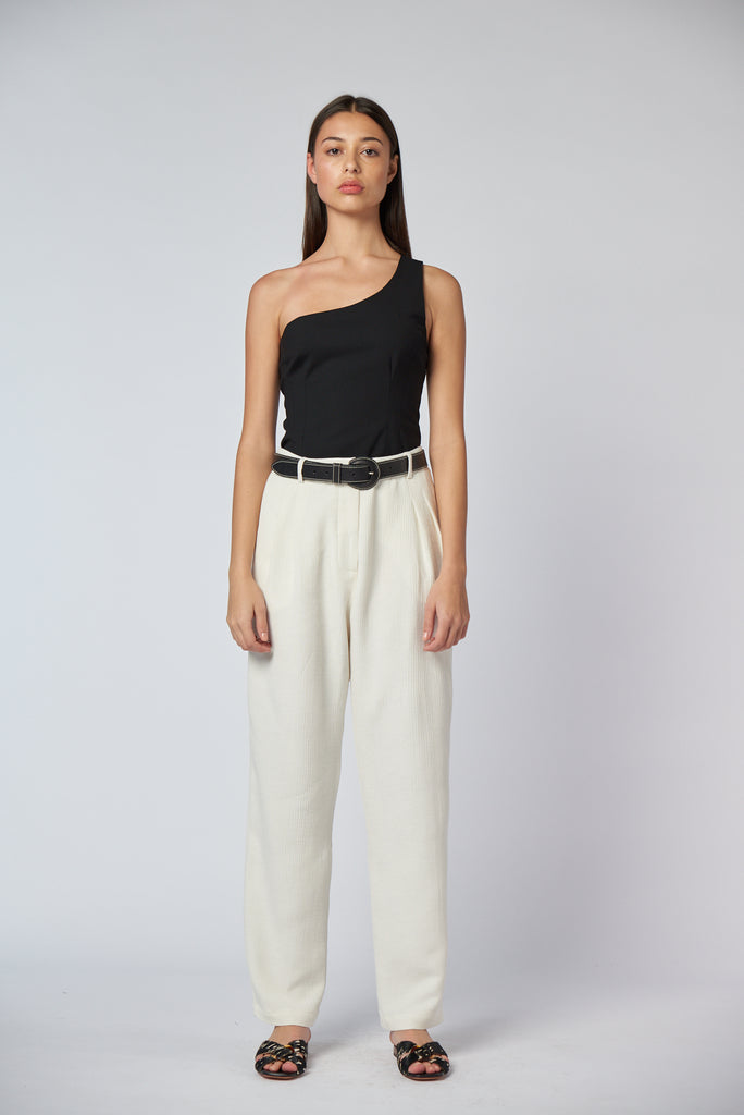 Tailored Trouser - Ivory