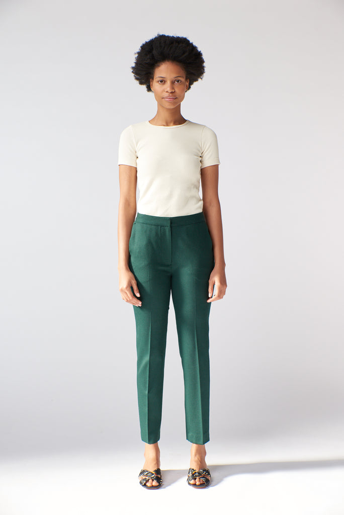 Slim Trouser - Forest