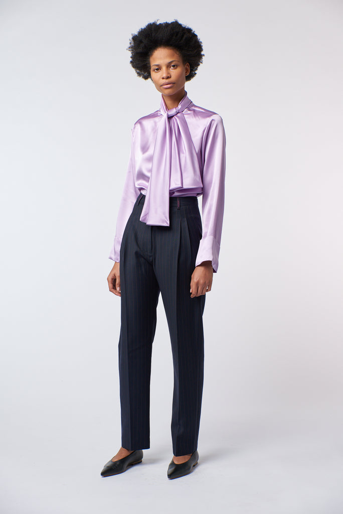 Tailored Trouser - Pinstripe