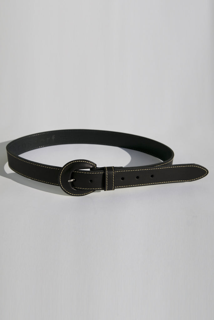 Stitch Belt - Black