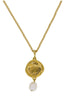 Holly Ryan Gold Matisse Necklace with Pearl