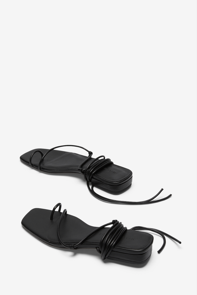 Nelson Made Roberta II Sandal - Black