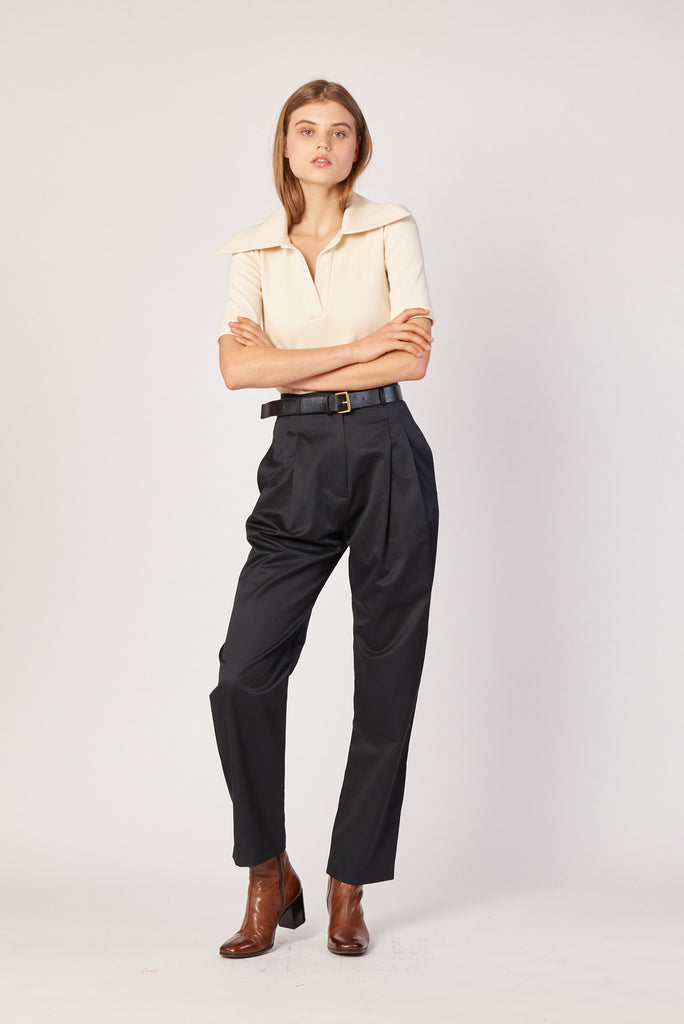 Tailored Trouser - Ink