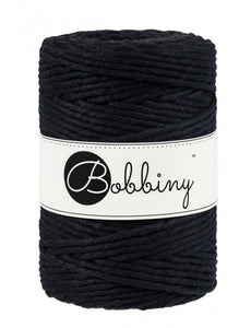 Macramé cord 5mm - Black