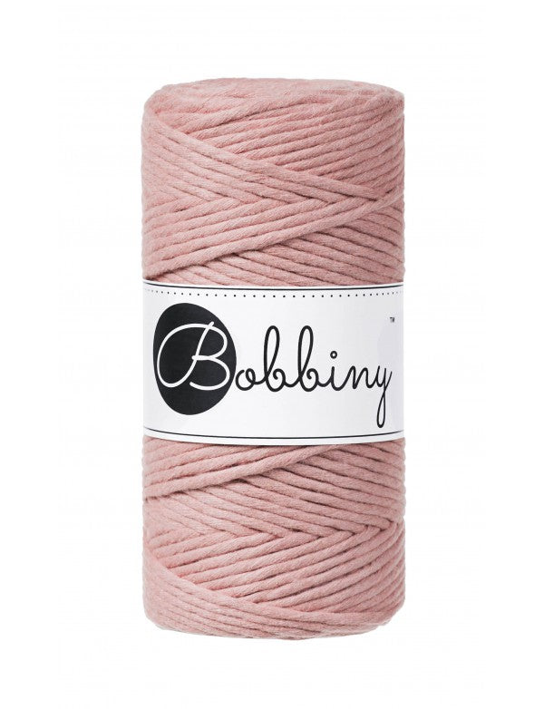 NÝTT - Macramé cord 3mm - Blush