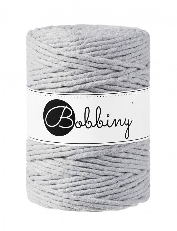 Macramé cord 5mm - Light grey