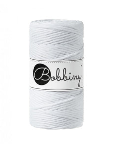 Macramé cord 3mm - White