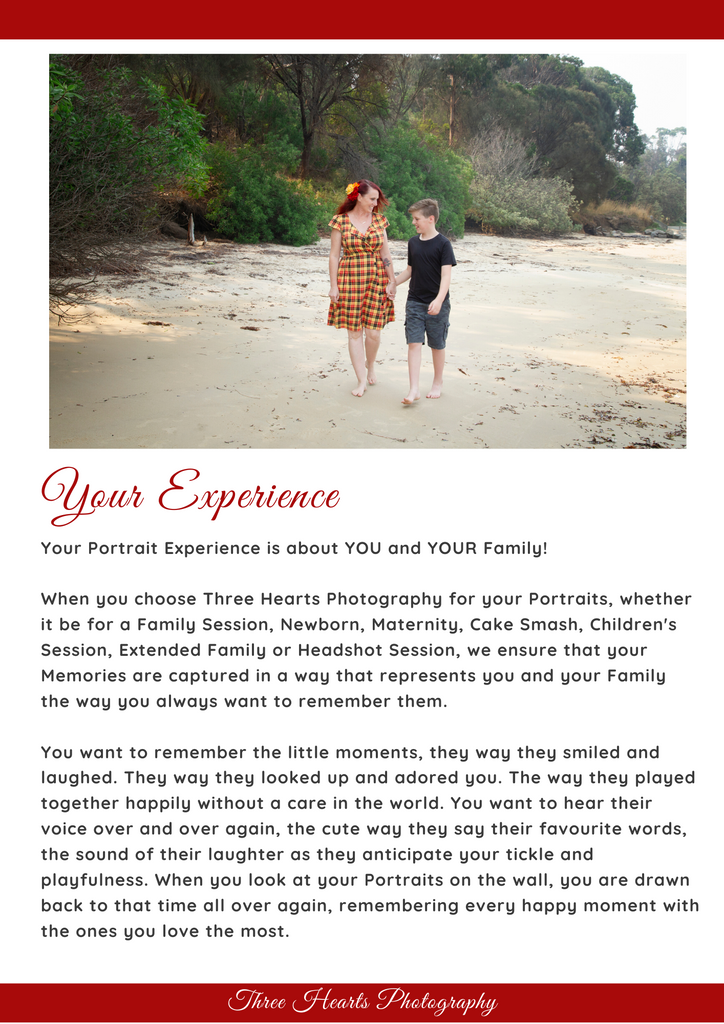 Three Hearts Photography Portrait Sessions