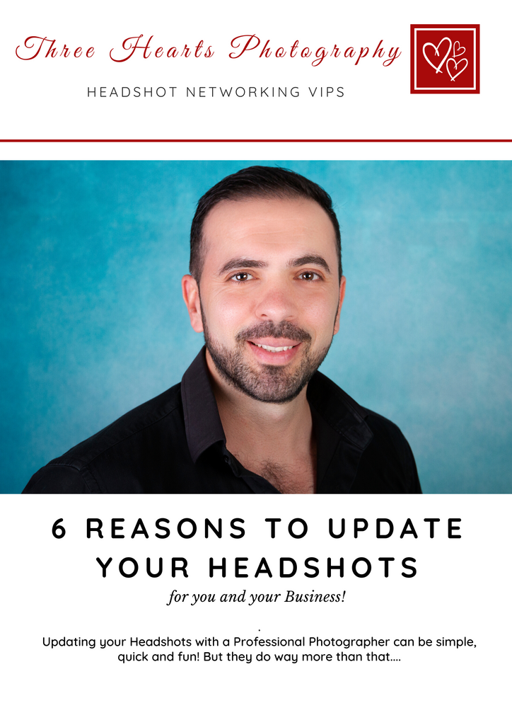 6 Reasons to Update your Headshots