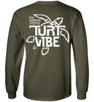 Turt Vibe Long Sleeve Shirt - Big and Tall