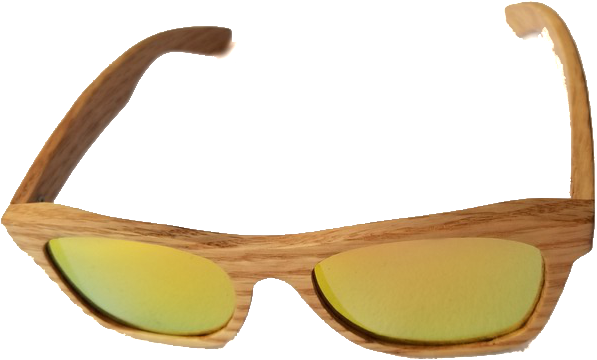 Turt Sunglasses, Sunset Gold, Bamboo, Natural