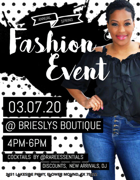 Spring Fashion Event