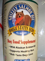 Grizzly Salmon Oil  with Pump