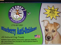 Pet Chef Cookies Blueberry Anti-Oxidant