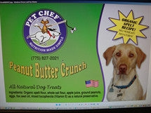 Pet Chef Cookies Peanut Butter Crunch