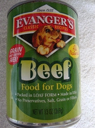Canned Dog Food, Evanger's Beef Food for Dogs