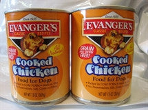 Canned Dog Food, Evanger's Cooked Chicken for Dogs