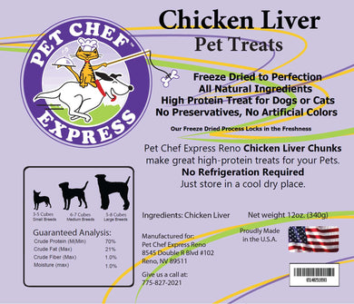PCE Chicken Liver Treats