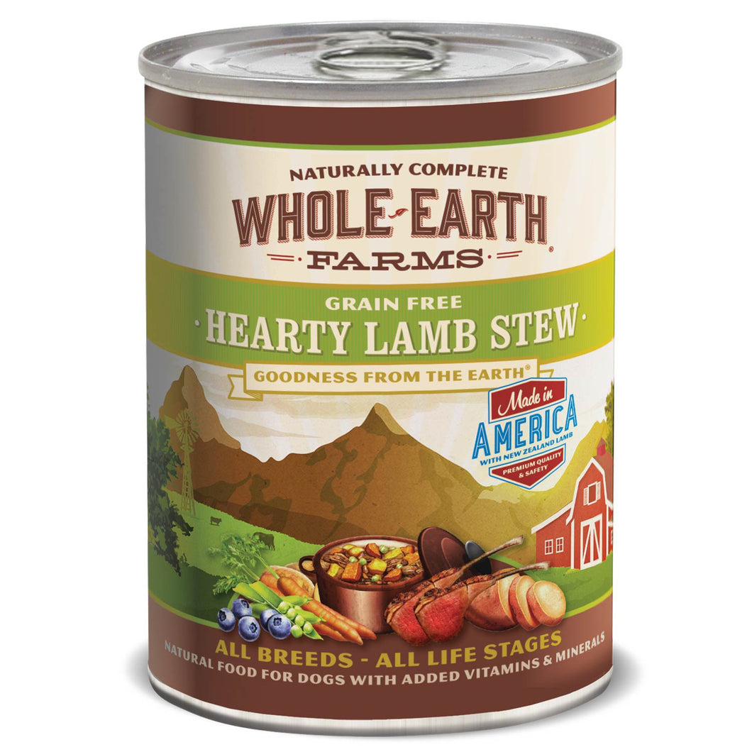 Merrick, Whole Earth Farms GF Lamb Stew 12.7oz