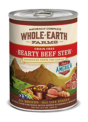 Merrick, Whole Earth Farms Beef Stew, 12.7oz