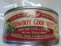 Merrick Canned Cat Food - Cowboy Cookout a Beef