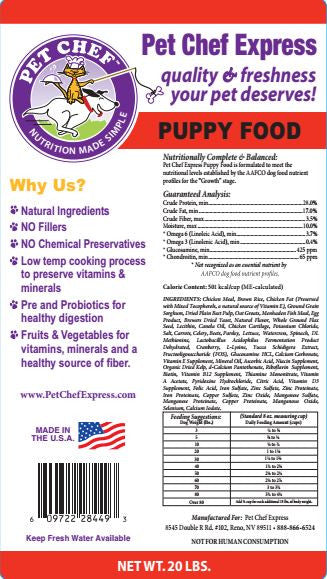Dog Food, Puppy Dry Dog Food