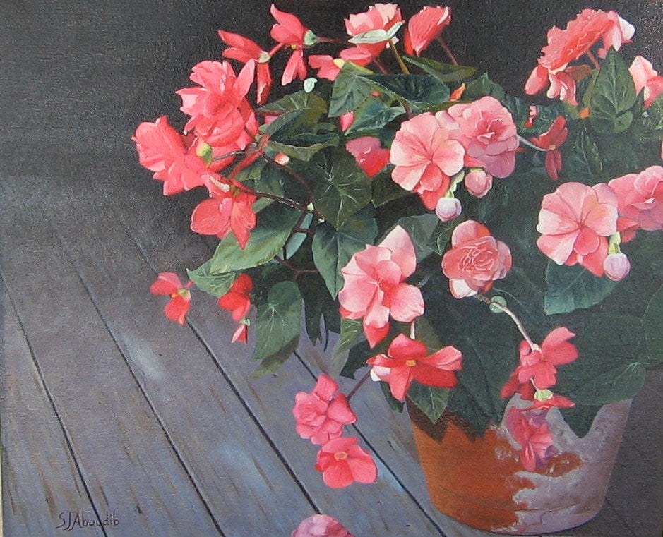Grandma's Touch - Begonias