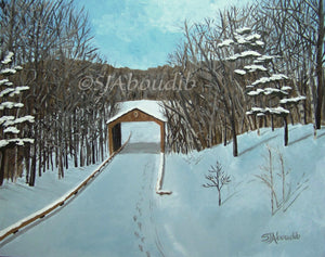 Covered Bridge - A Winter's Hike