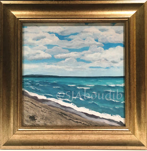 Lake Michigan from Empire Beach - Original Painting