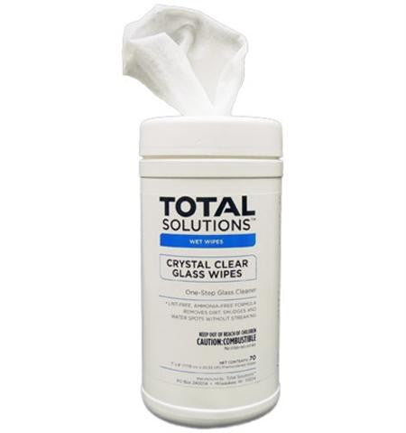 Crystal Clear Glass Wipes - Empire Chemical