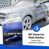 EmpireChemical Car Wash N' Wax Concentrated Solution (1 Gallon) | All-in-one Car Wash Soap with Protective Wax for Truck, RV, Motorcycle, Bus, Trailer | Auto Detail Cleaning Concentrate | Made in USA
