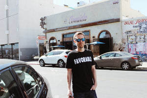 FAVORABLE T-SHIRT - BLACK (archived)