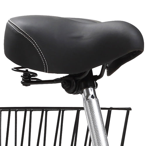 Padded, Spring Leather Saddle