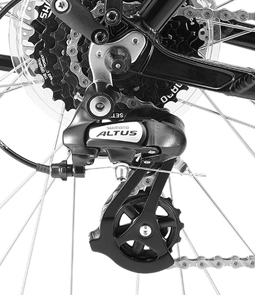 8 Speed Shimano Drivetrain