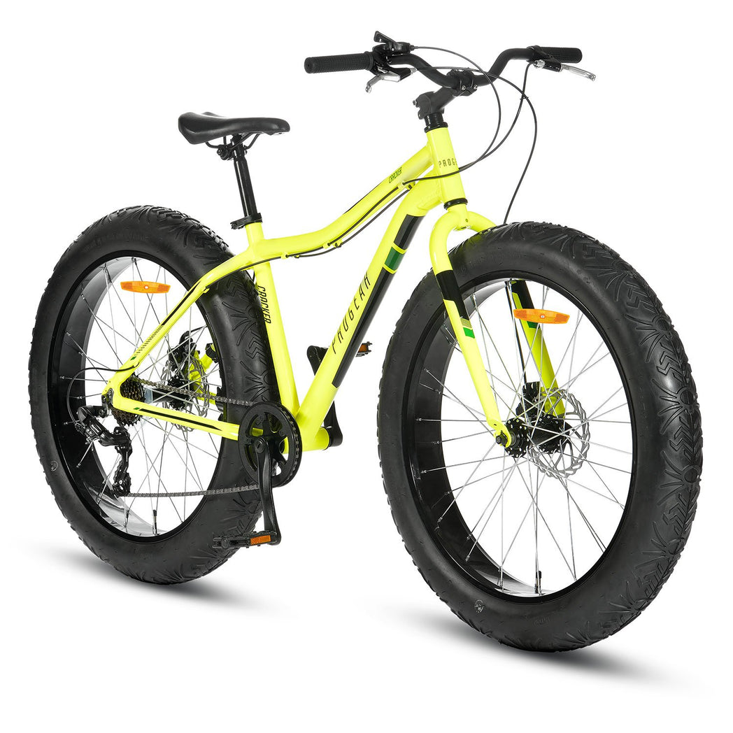 Cracker Fat Tyre Bike - Hi-Vis Green