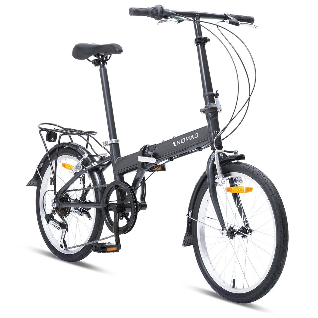 Nomad Folding Bike - Grey