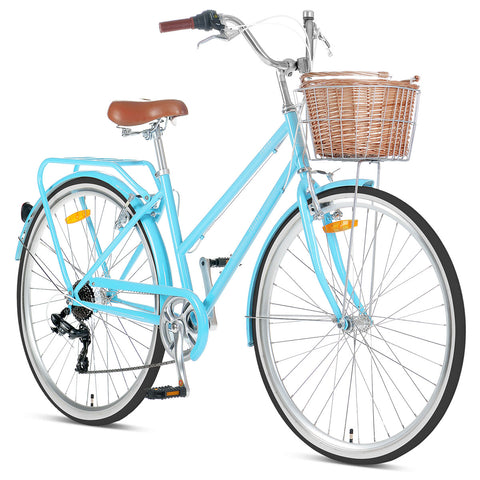 "Pomona Retro Bike 17"" - Sky Blue"