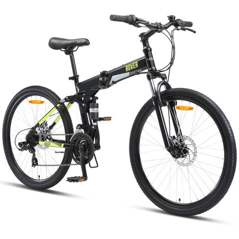 ROVER Folding Mountain Bike - Black