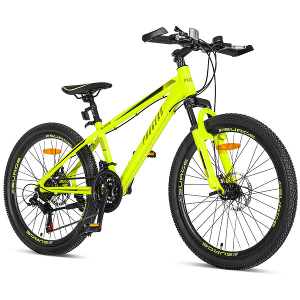 "Surge MTB 24"" in Fluro Yellow"