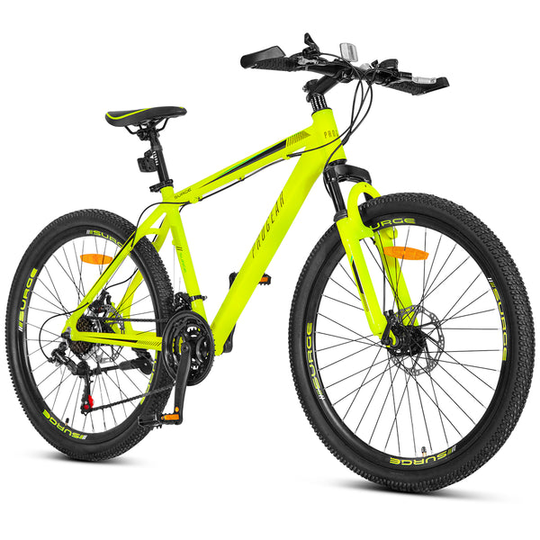 "Surge Mountain Bike - Fluro Yellow (17"")"