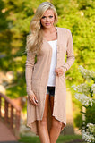 Button-down Duster Cardigan
