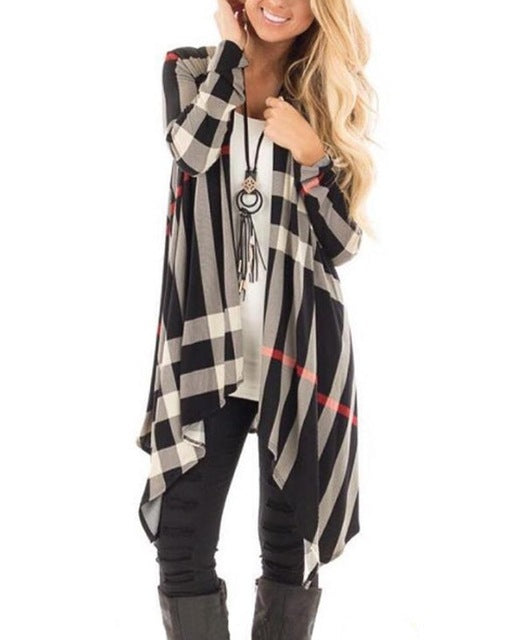 Plaid Me Cardigan