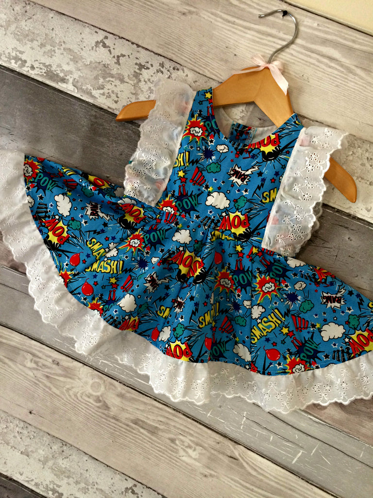Frilly Lilly Dress - Superhero