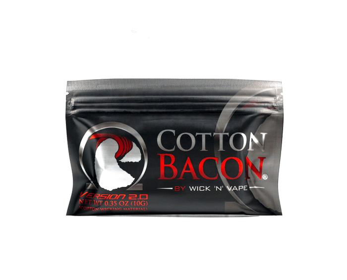 Cotton Bacon Wick N Vape Cotton Bacon