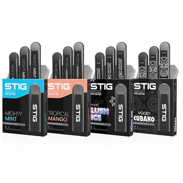 Stig pod system Stig Pod Disposable Vape Pod - 3 Pack 20mg