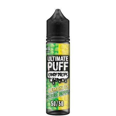 Ultimate Puff e liquid Ultimate Puff Candy Drops Lemon Sour Apple 50/50