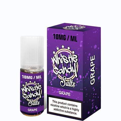 Whistle Candy salt nic Whistle Candy Salts Grape 10mg/20mg
