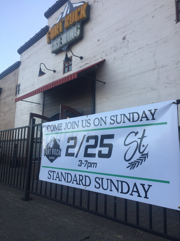 Standard Sunday Recap - Fort Rock Brewing